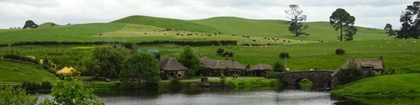 -- Hobbiton's view of the Green Dragon inn