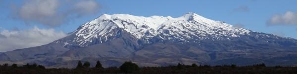 -- Lovely but dangerous Mt. Ruapehu