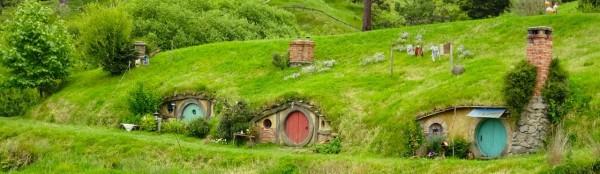 -- hobbit holes