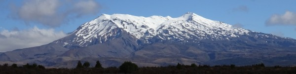 -- Lovely but dangerous Mt. Ruapehu