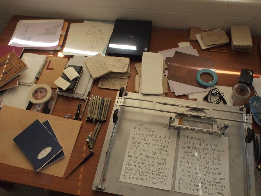 DM desk
