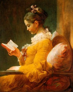 Lectrice de Fragonard